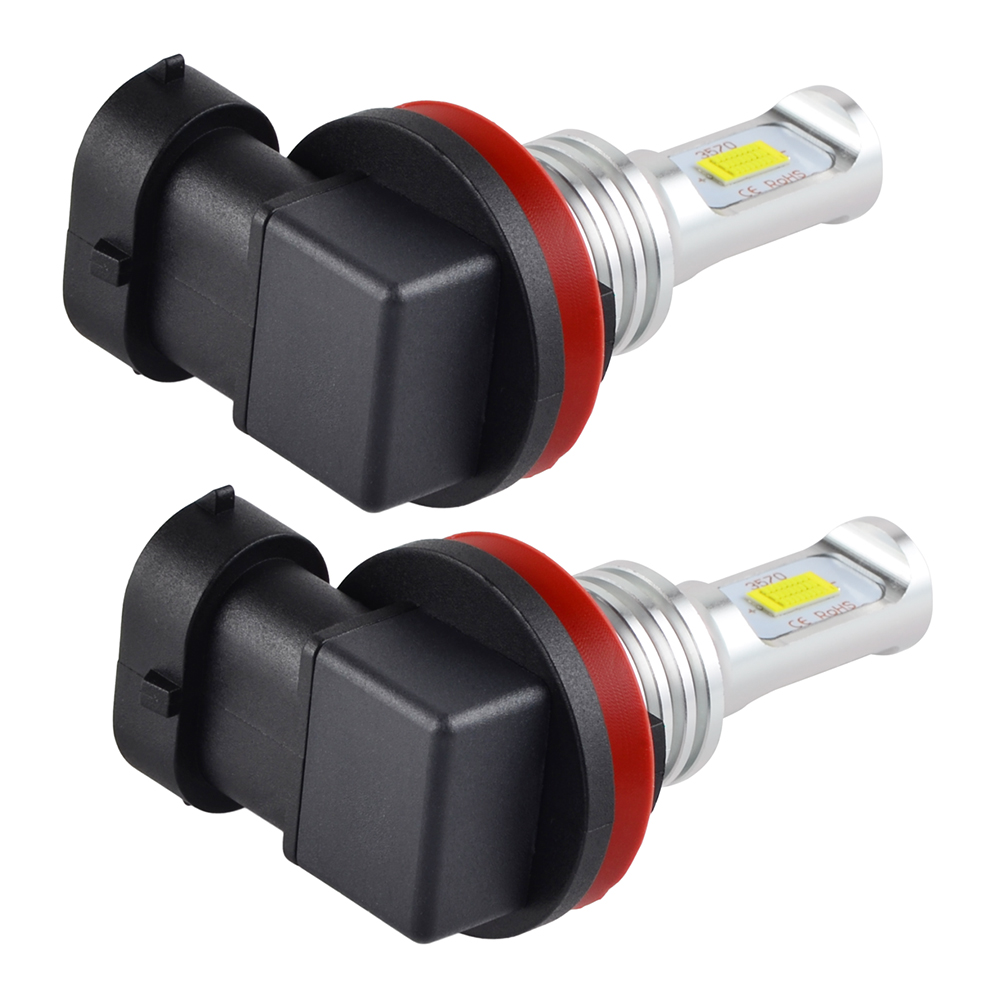 2x H11 H8 100w Led Foglight Drl Bulb For Toyota Camry 2007