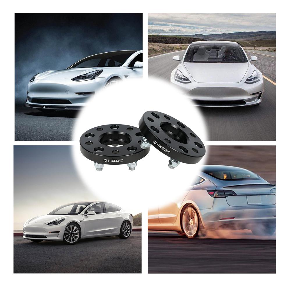 For Tesla Model 3 EV 5x114.3 64.1MM Hub Centric Wheel ...