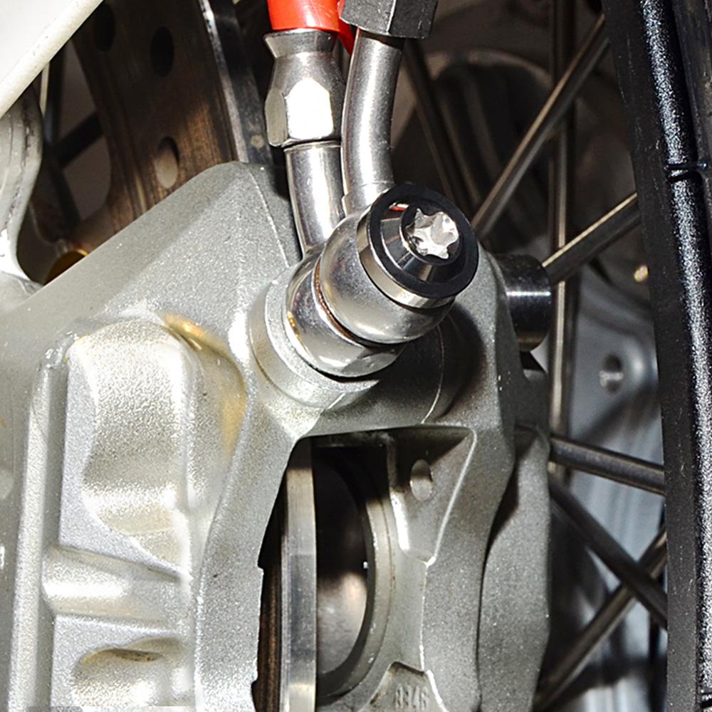 BMW K1200R 05-08 Titanium Rear Disc Brake Bolt Kit